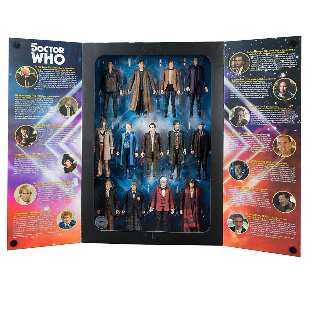Doctor Who 13 Doctor Limited Edition Action Figure Set