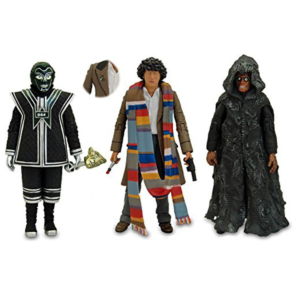 Doctor Who 4th Doctor Collector Action Figure Set