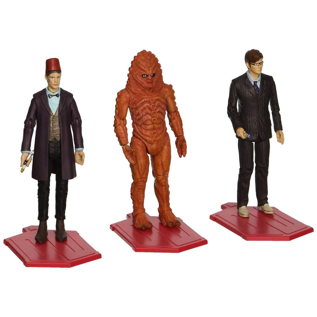 Doctor Who Day Of The Doctor Action Figures Set