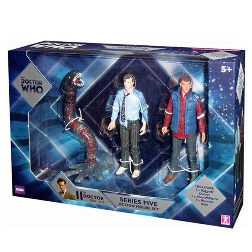 Doctor Who Eleventh Doctor Series Five Companions 3 Pack Action Figures - Radar Toys
