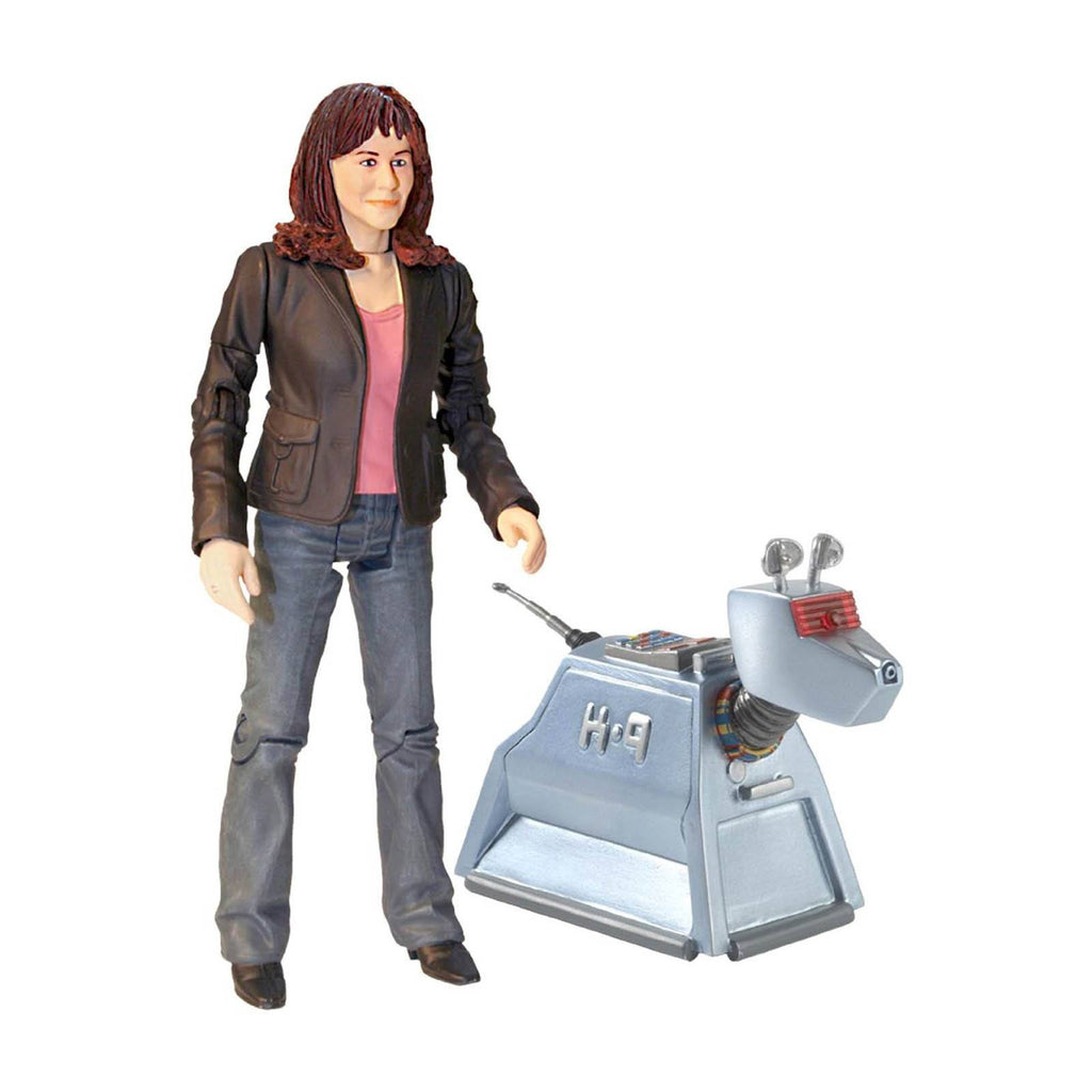Doctor Who Sarah Jane Smith With K-9 Action Figures