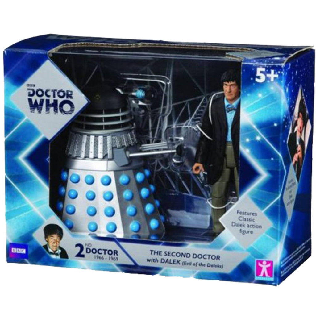 Doctor Who Second Doctor With Dalek Action Figure Set