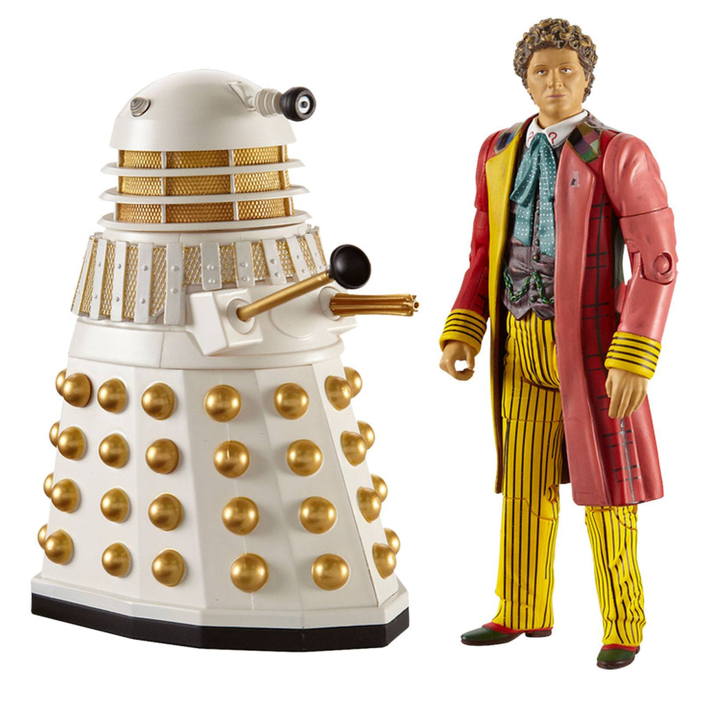 Doctor Who Sixth Doctor With Dalek Action Figure Set