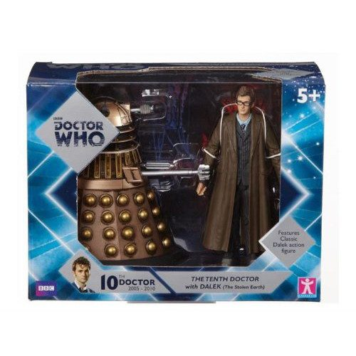 Doctor Who Tenth Doctor With Dalek Action Figure Set - Radar Toys