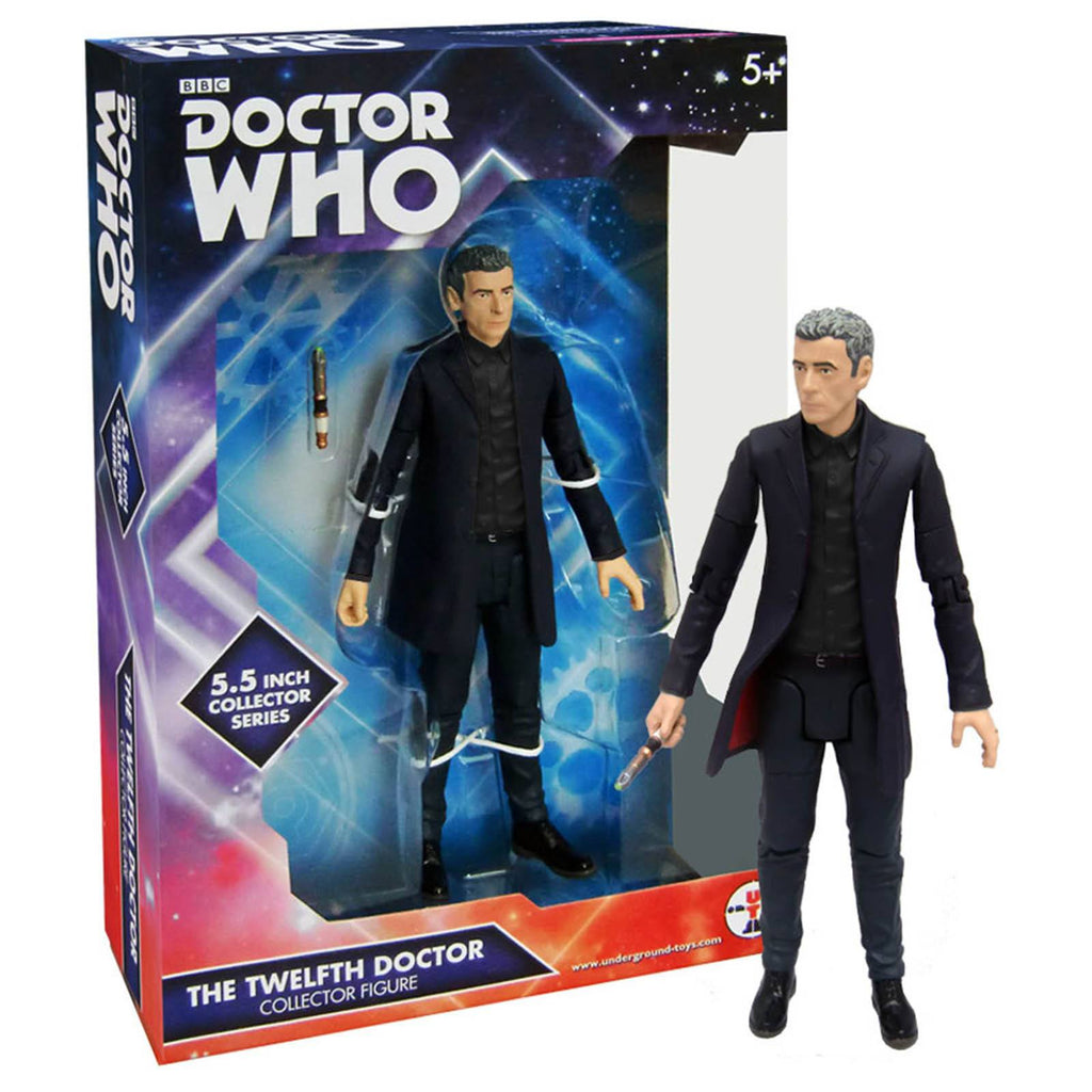 Doctor Who The 12th Doctor Black Shirt Action Figure