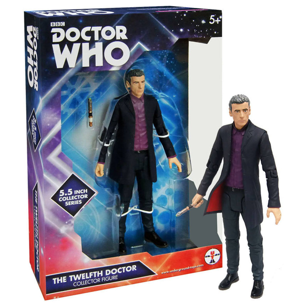 Doctor Who The 12th Doctor Purple Shirt Action Figure