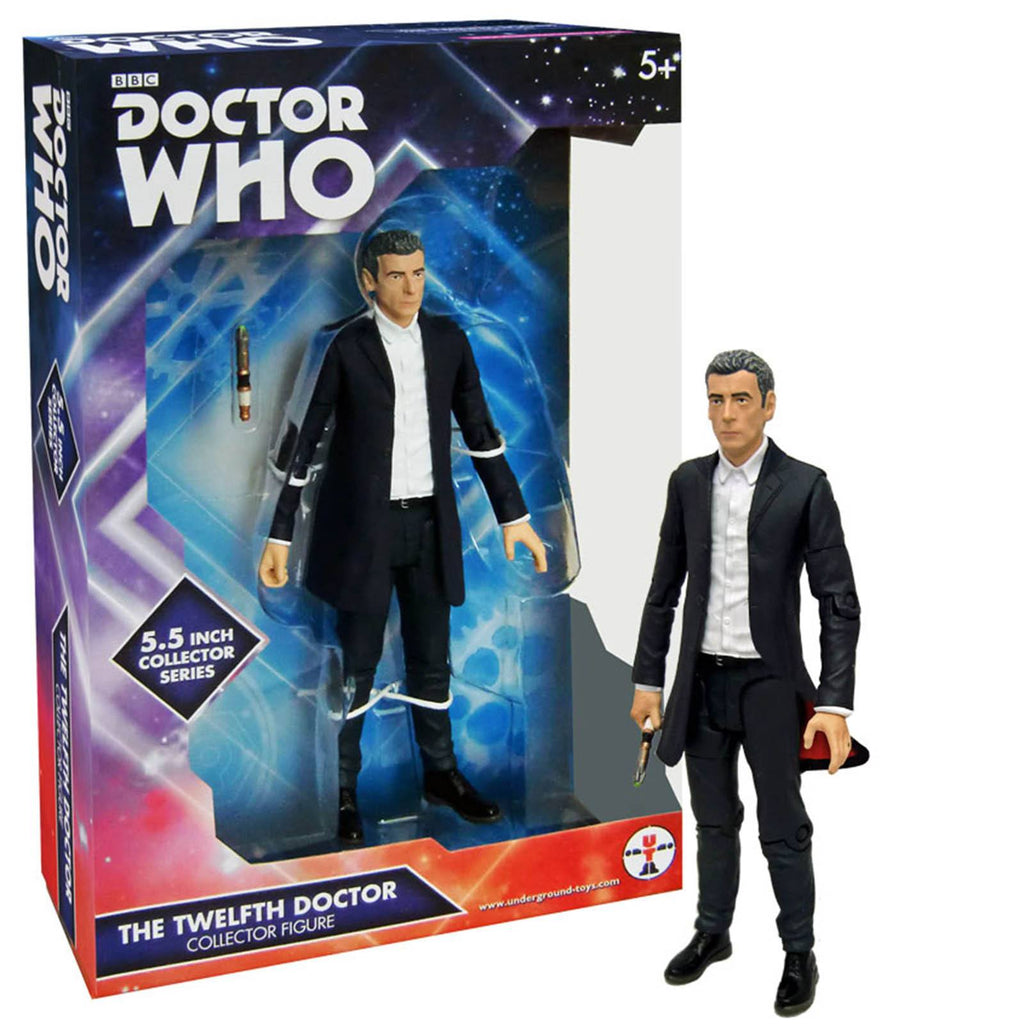 Doctor Who The 12th Doctor White Shirt Action Figure