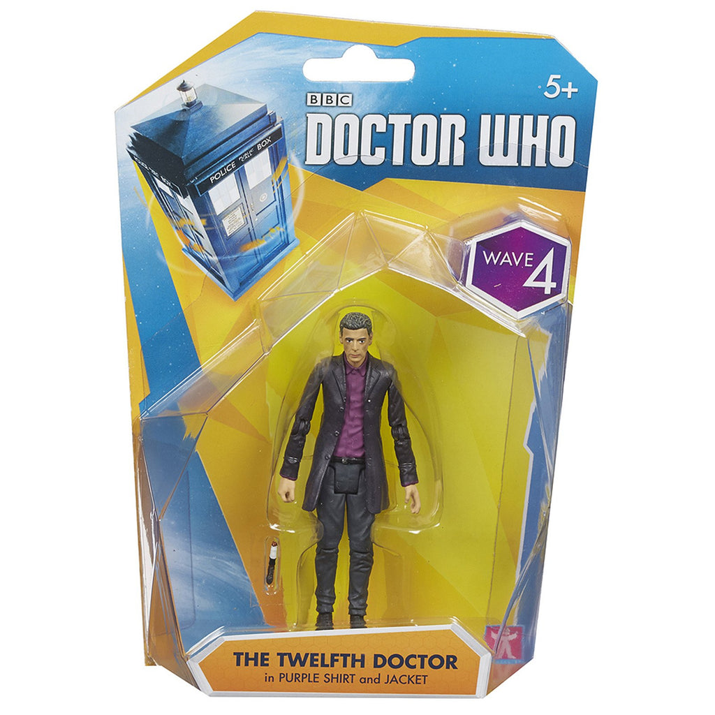 Doctor Who Wave 4 12th Doctor In Purple Shirt Action Figure
