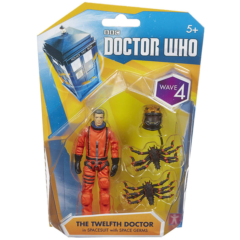 Doctor Who Wave 4 Twelfth Doctor In Spacesuit Action Figure