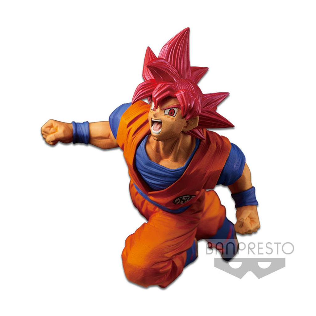Dragon Ball Super Fes!! Volume 9 SS4 Goku Figure