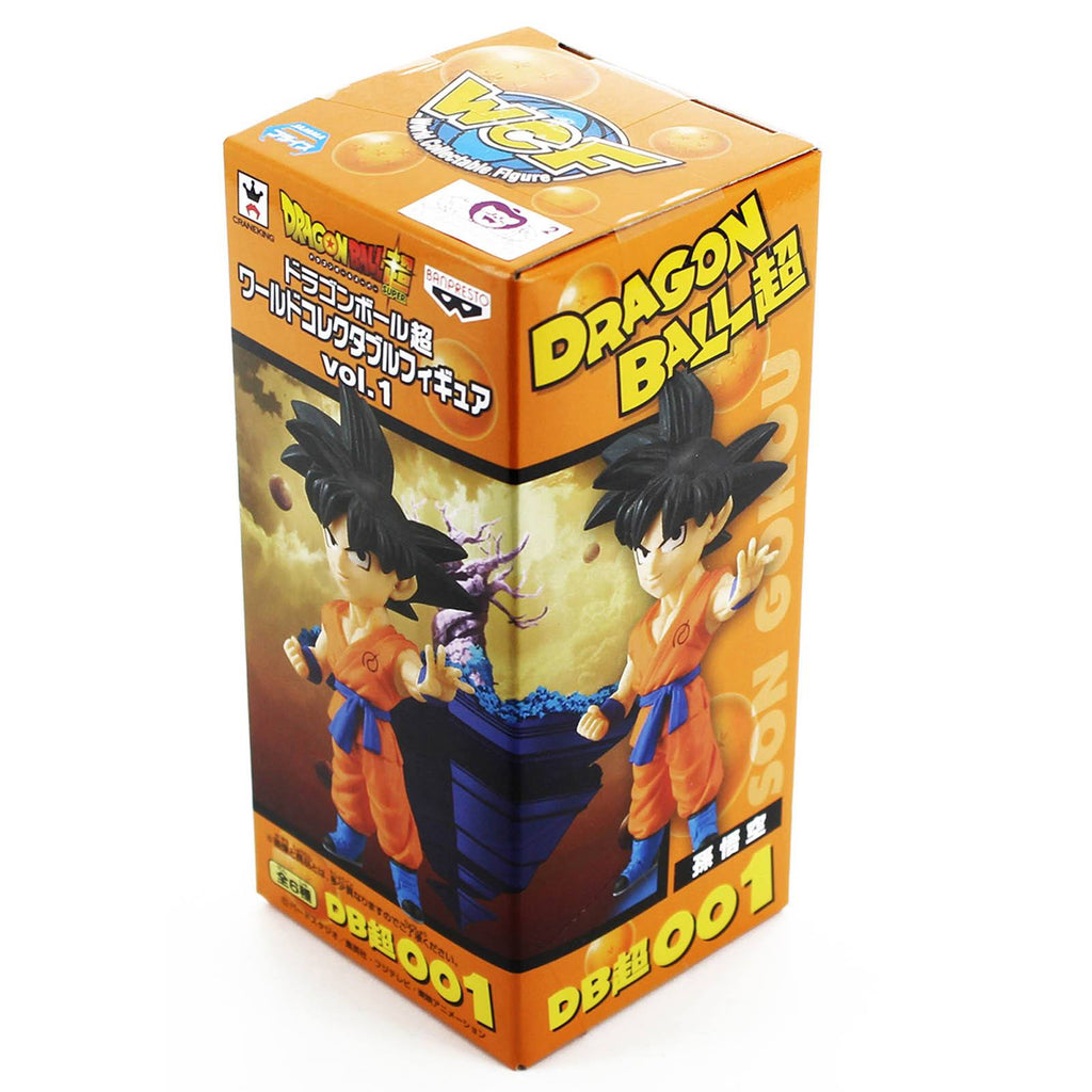Dragon Ball Z World Collectible Volume 1 Goku Figure