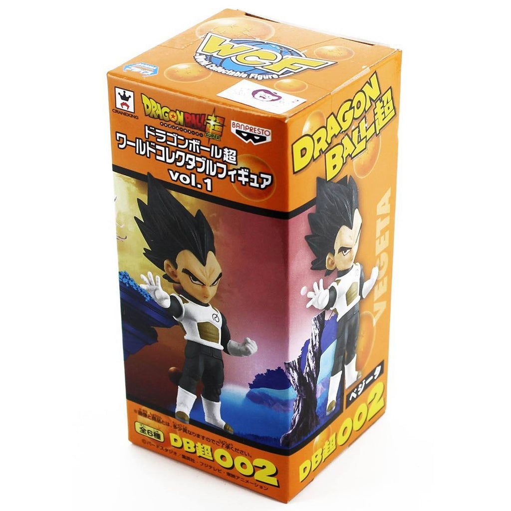 Dragon Ball Z World Collectible Volume 1 Vegeta Figure
