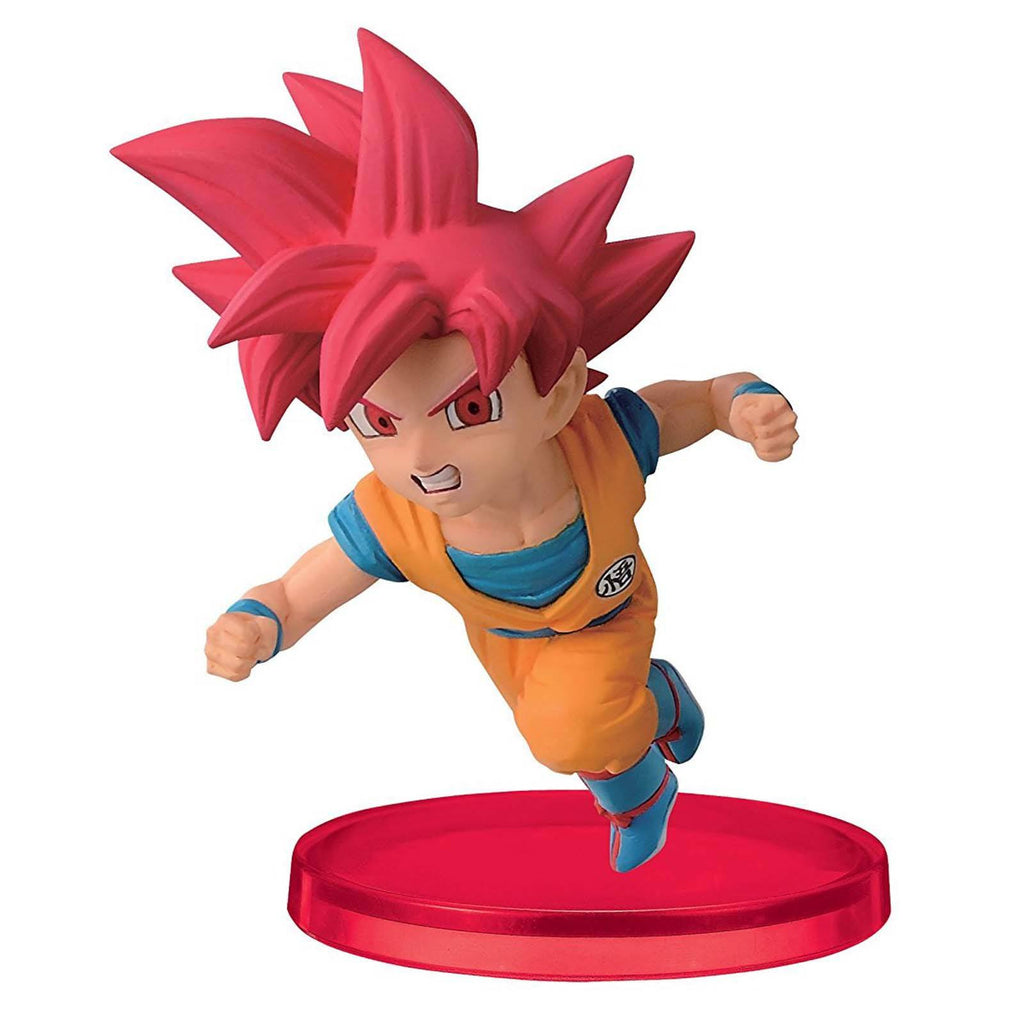 Action Figures - Dragon Ball Z World Collectible Volume 2 Super Saiyan God Goku Figure