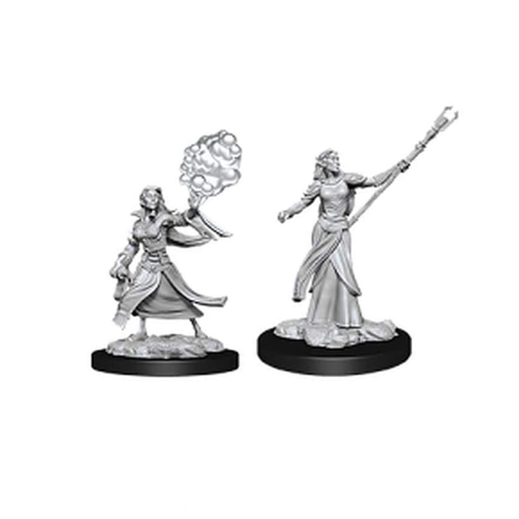Action Figures - Dungeons And Dragons Female Elf Sorcerer Nolzur's Marvelous Miniatures