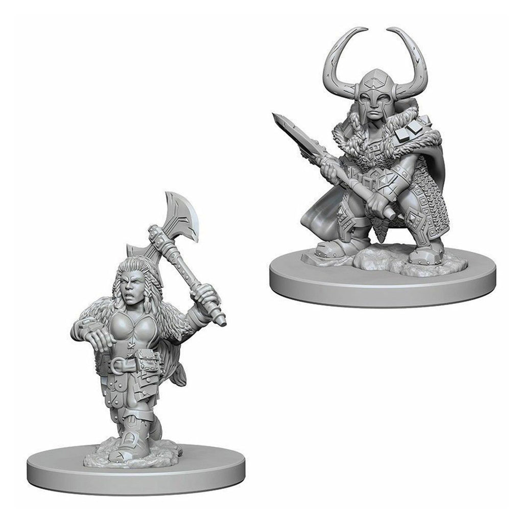 Dungeons And Dragons Nolzur's Dwarf Female Barbarian Set