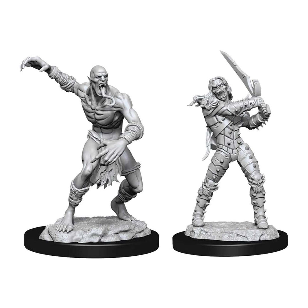 Action Figures - Dungeons And Dragons Wight & Ghast Nolzur's Miniatures
