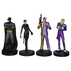 Action Figures - Eaglemoss Batman Masterpiece Collection 75th Anniversary 4 Figure Set