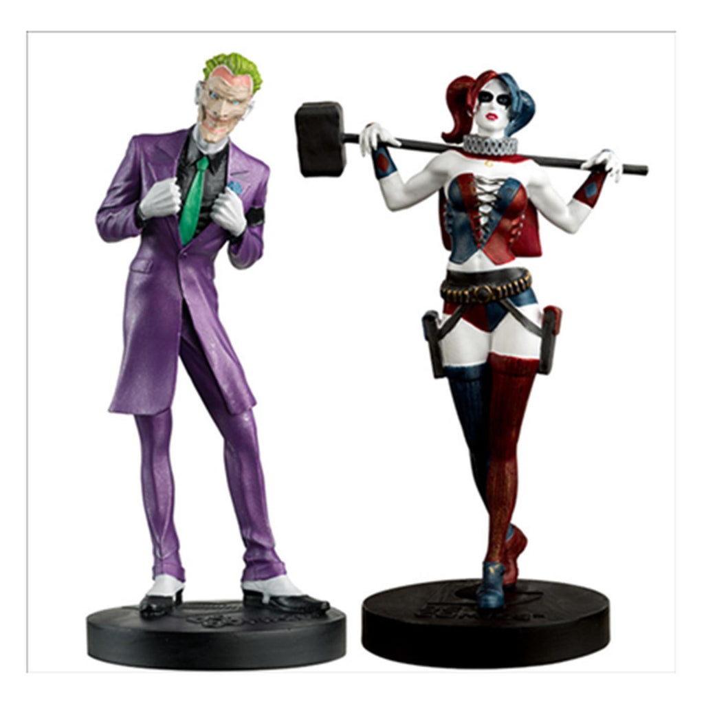 Eaglemoss Batman Masterpiece Collection The Joker Harley Quinn Set
