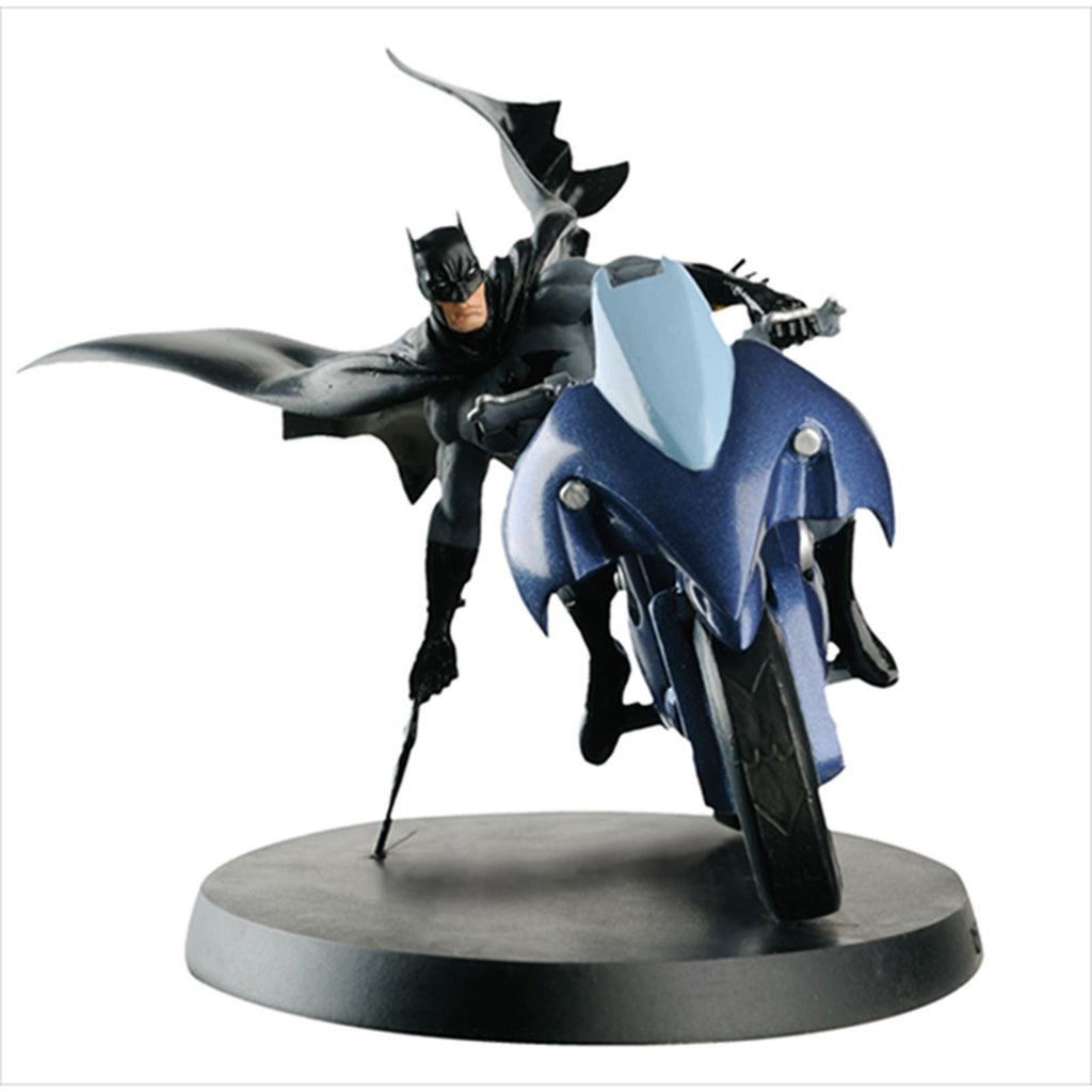 Eaglemoss DC Super Hero Collection Batman And Batcycle 4 Inch Figure