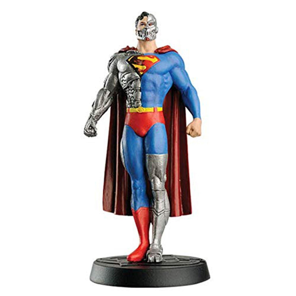 Eaglemoss DC Super Hero Collection Cyborg Superman 4 Inch Figure