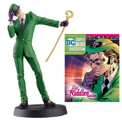 Action Figures - Eaglemoss DC Super Hero Collection The Riddler Figure