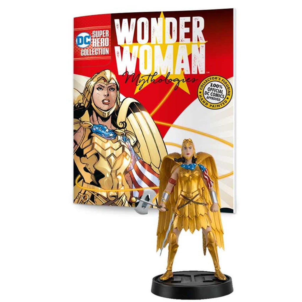 Action Figures - Eaglemoss DC Wonder Woman Mythology Gold Armour 5 Inch Figure