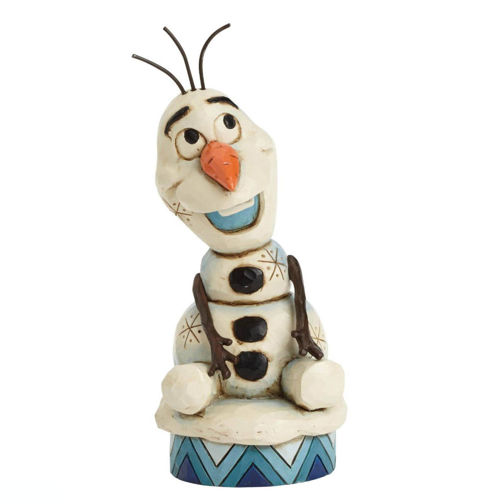 Enesco Disney Showcase Traditions Frozen Silly Olaf Figure - Radar Toys