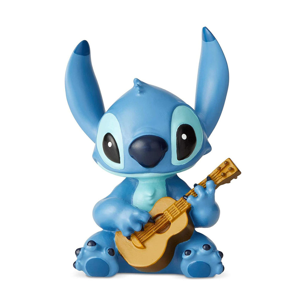 Action Figures - Enesco Disney Stitch With Guitar Figurine