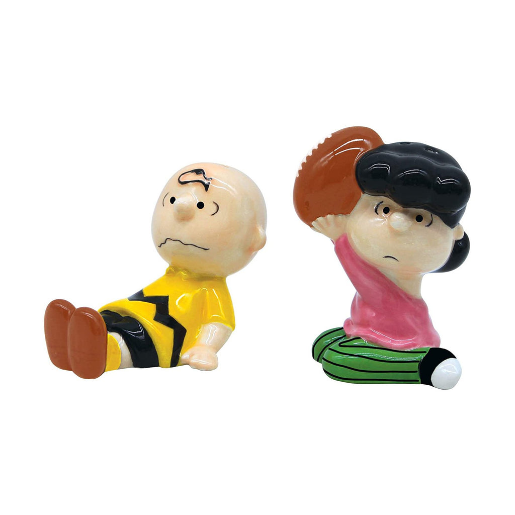 Action Figures - Enesco Peanuts Charlie And Lucy Salt & Pepper Shaker