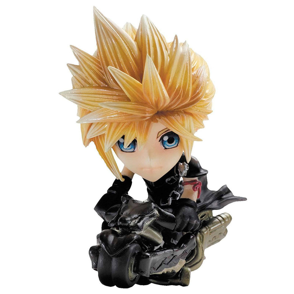 Final Fantasy VII Advent Children Trading Arts Mini Cloud Strife Figure Set