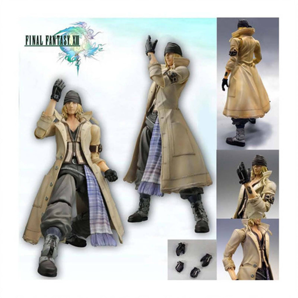 Final Fantasy XIII Play Arts Snow Villiers Action Figure