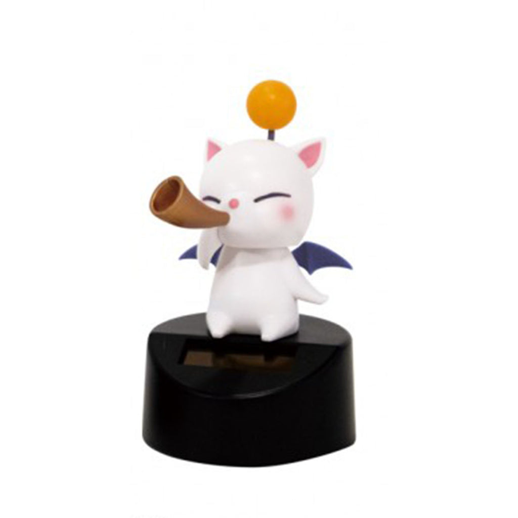 Final Fantasy XIV Moogle Music Band Curved Horn Mini Solar Figure
