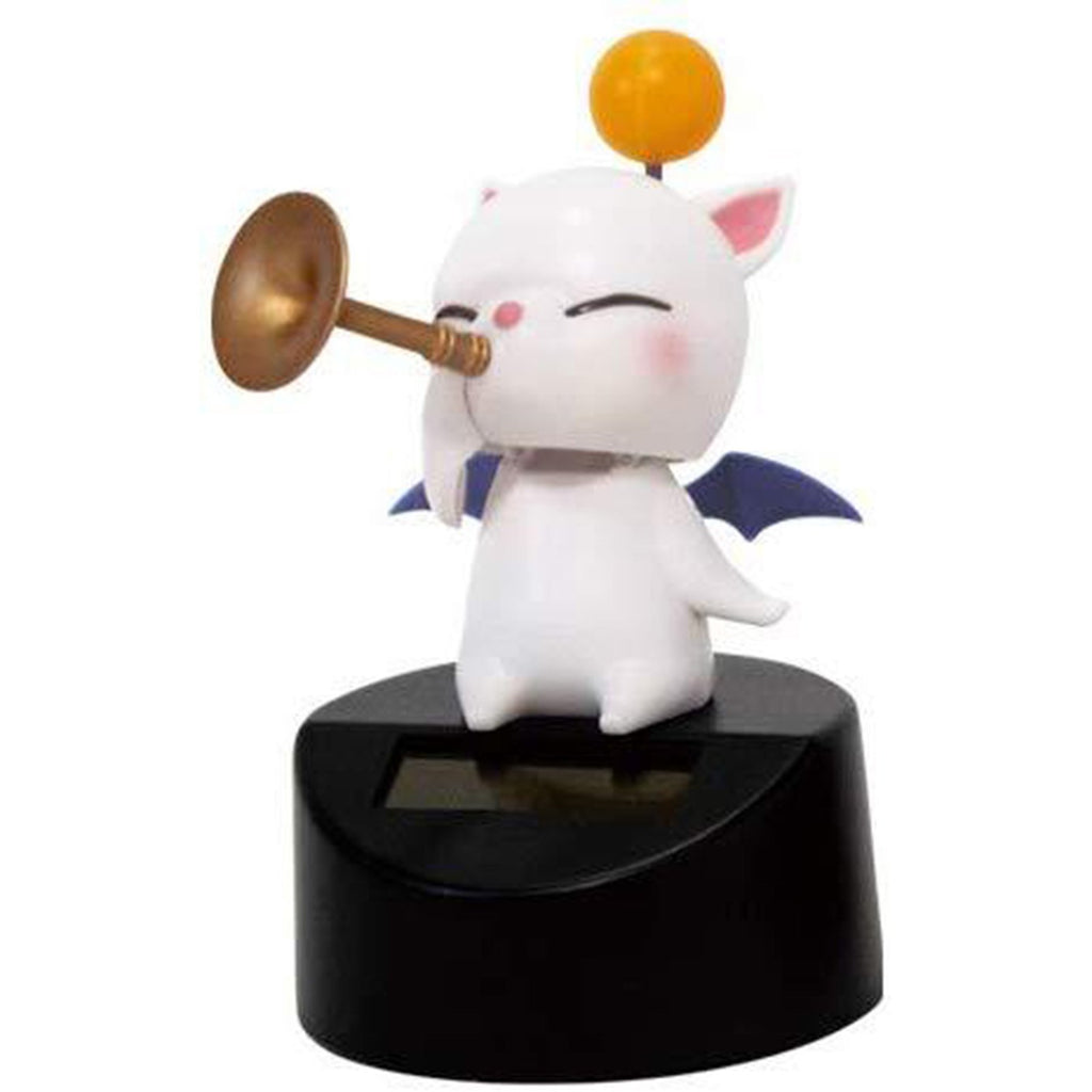 Final Fantasy XIV Moogle Music Band Horn Mini Solar Figure