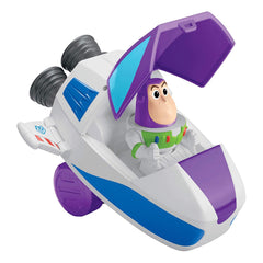 Action Figures - Fisher Price Disney Toy Story 4 Buzz Lightyear Pop Up Spaceship Cruiser