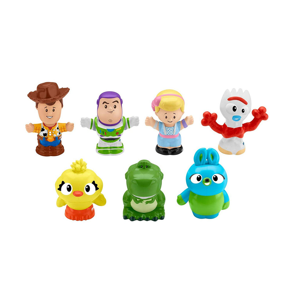 Action Figures - Fisher Price Toy Story 4 Little People 7 Friends Pack