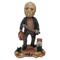 Action Figures - FOCO Friday The 13th Jason Voorhees Bobble Head Figure