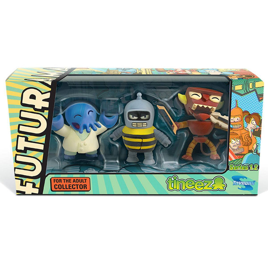 Futurama Tineez Series 1.2 3 Pack