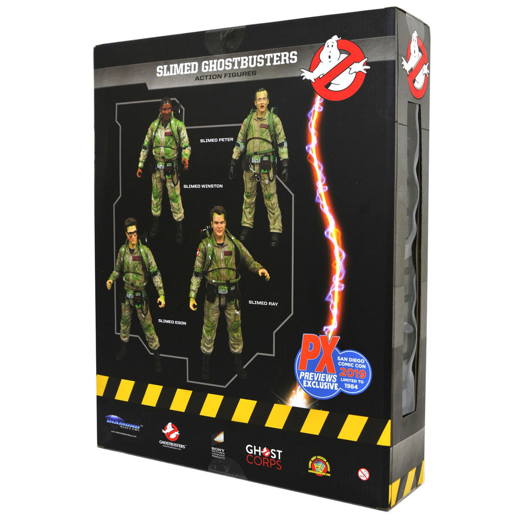 Ghostbusters SDCC PX Exclusive Slimed Action Figure Set
