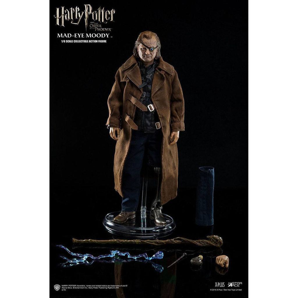 Harry Potter Order Of The Phoenix Mad-Eye Moody 1/6 Scale Action Figure