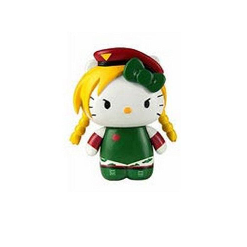 Hello Kitty Street Fighter Cammy Mobile Plug Charm Figure - Radar Toys