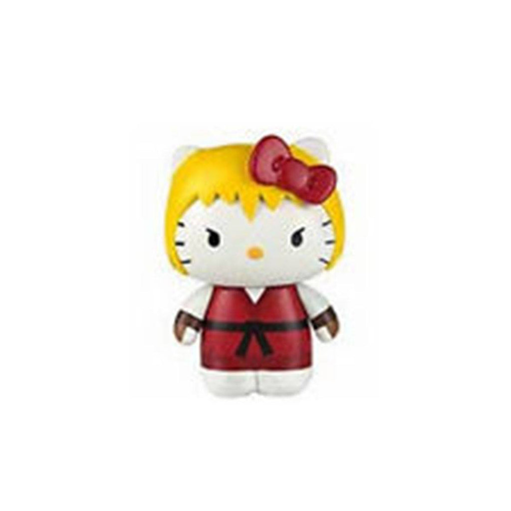 Hello Kitty Street Fighter Ken Mobile Plug Charm Figure - Radar Toys