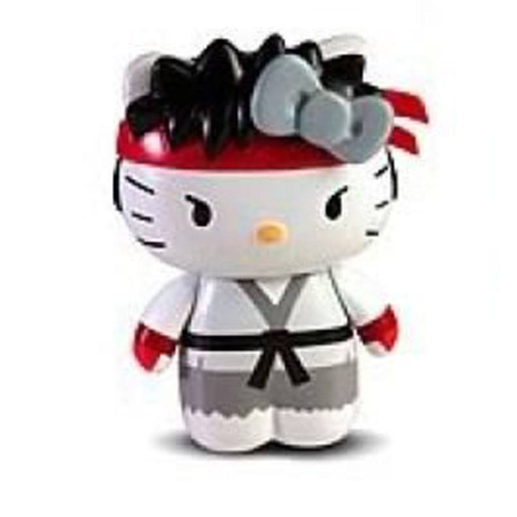 Hello Kitty Street Fighter Ryu Mobile Plug Charm Figure - Radar Toys