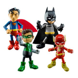 Action Figures - Herocross Justice League Mini Hybrid Metal Action Figure Set