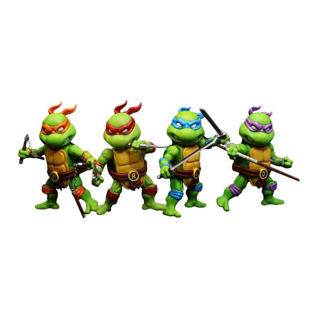 Herocross Teenage Mutant Ninja Turtles Mini Hybrid Metal Action Figure Set