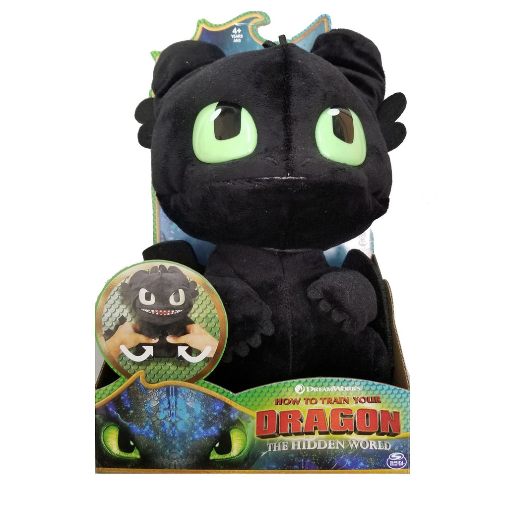 How To Train Your Dragon Hidden World Toothless Plush With Sounds