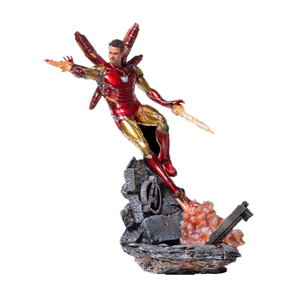 Iron Studios Avengers End Game Iron Man Mark LXXXV Deluxe Statue