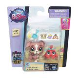 Action Figures - Littlest Pet Shop Pets City Calla Boxton And Blossom Clawson Figures