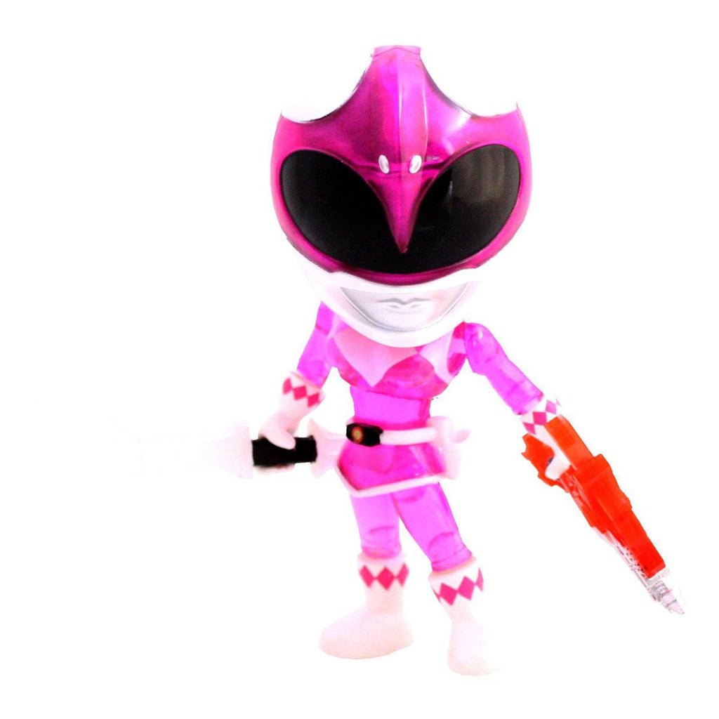Loyal Subjects Power Rangers Exclusive Crystal Armor Pink Ranger Figure