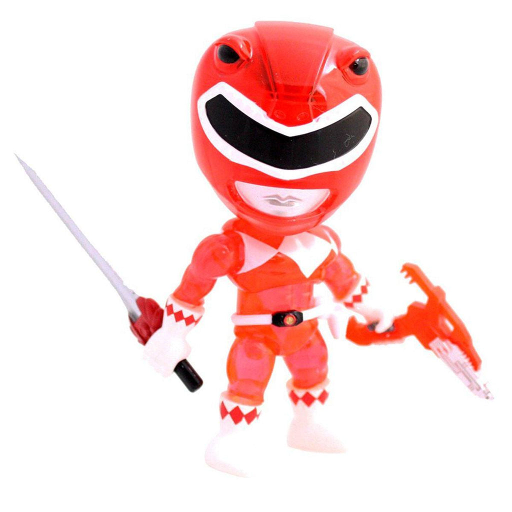 Loyal Subjects Power Rangers Exclusive Crystal Armor Red Ranger Figure