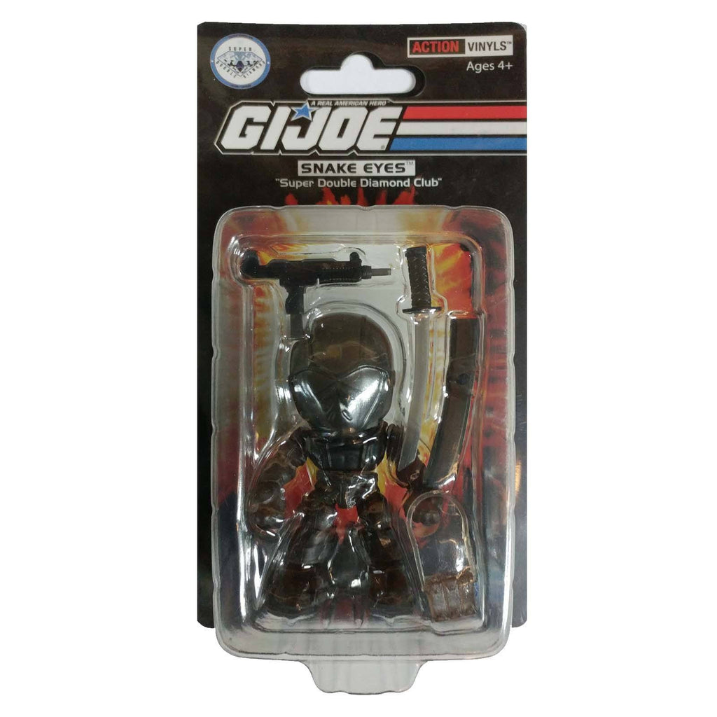 Loyal Subjects SDDC G.I. Joe Snake Eyes Black Action Figure
